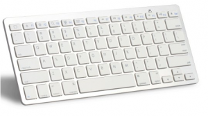 OMOTON Ultra-Slim Bluetooth Keyboard for Apple iPad Air