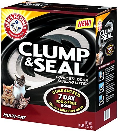 Arm & Hammer Litter, Seal Clumping and Multi-Cat Clump Litter