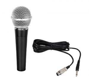 Pyle Pro PDMIC58 Professional Moving Coil Dynamic Handheld Microphone