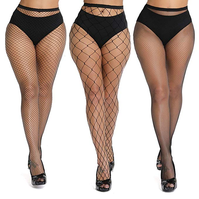 Akiido High Waist Tights Fishnet Stockings
