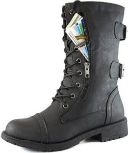 DailyShoes Military Combat Shoe