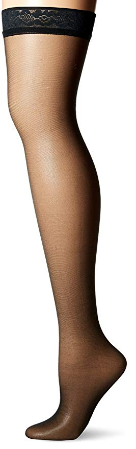Hanes Thigh High Women's Silk Stockings