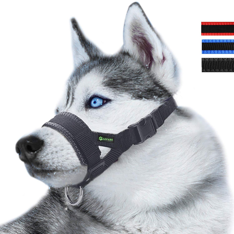 Lepark Nylon Dog Muzzle
