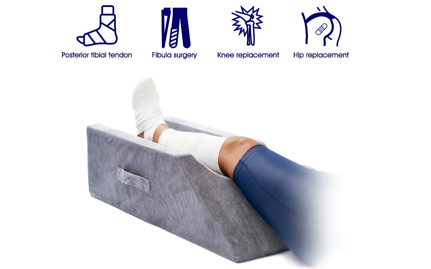 LightEase Leg Positioner Pillow