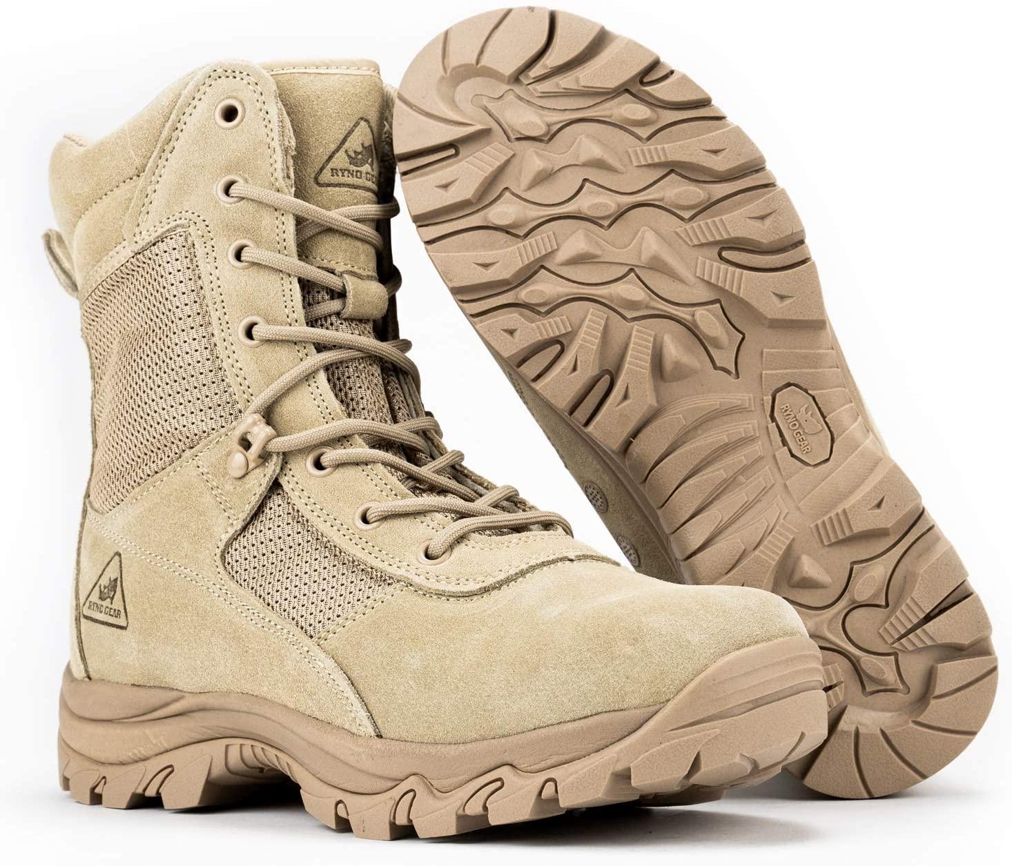 RYNO GEAR Combat Boots