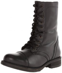 Steve Madden Women's Combat Boot Troppa 2.0 Version