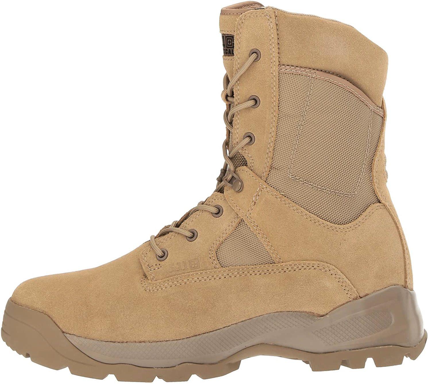 Tactical ATAC Men's Leather Jungle Combat Coyote Boots