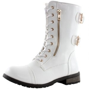 West Blvd Sydney Boot with Combat Style