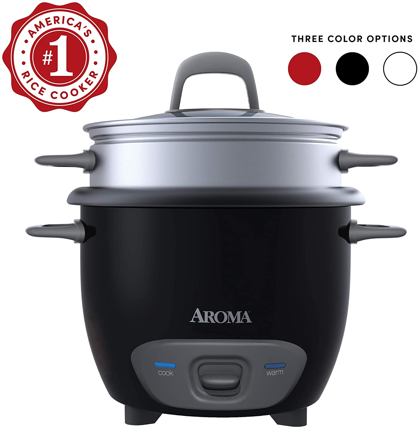Aroma Housewares ARC 731-1 Pot-Style Rice Cooker and Steamer