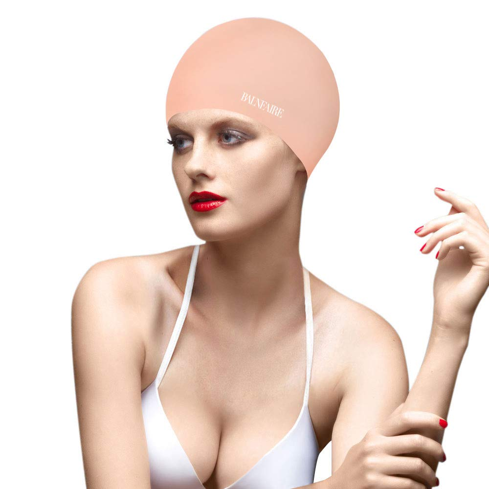 BALNEAIRE Silicone Solid Swim Cap