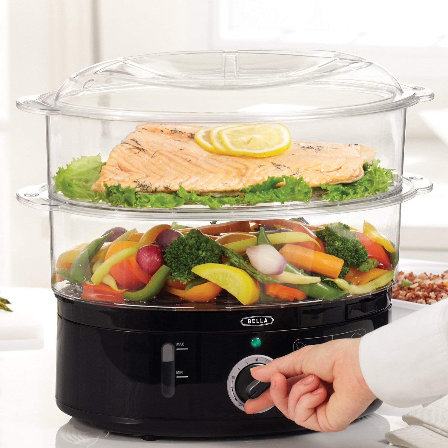 Bella 2-Tier 13872 Healthy Food Steamer