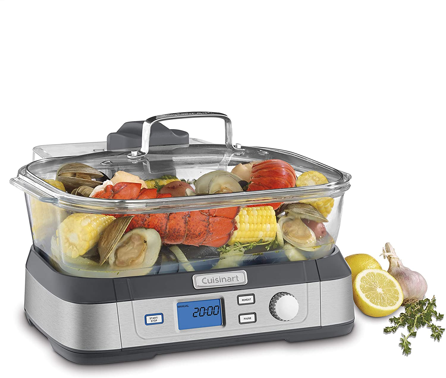 Cuisinart Digital STM-1000 Glass Steamer