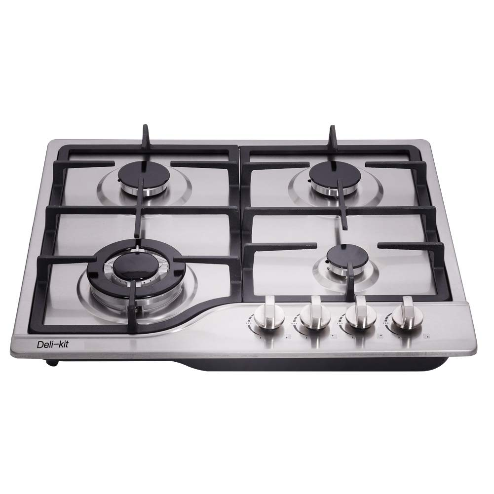 Deli-kit DK245-A02 Stainless Steel Gas Cooktop