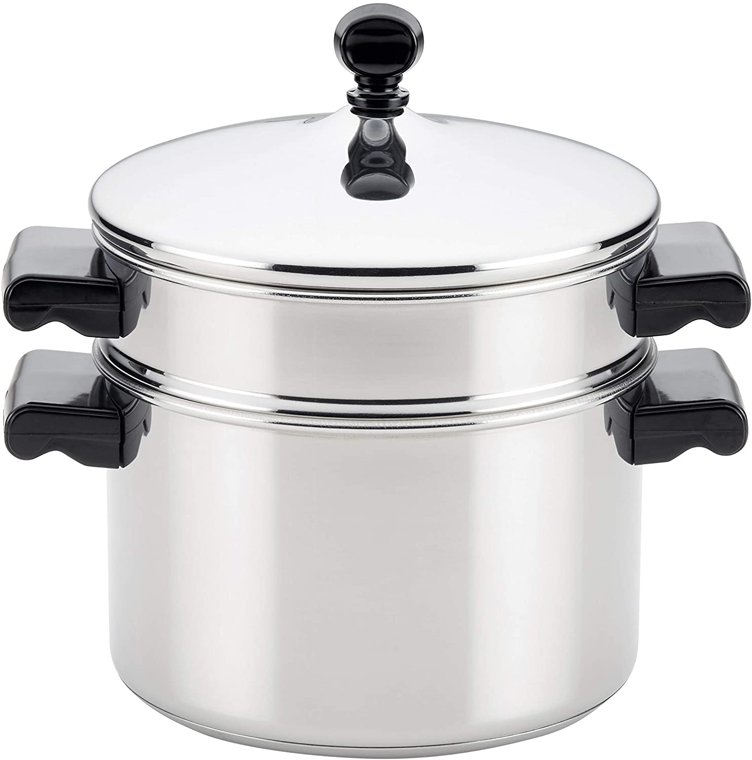 Farberware Stack 'N' 70043 Stack 3 Qt Stainless Steel Steamer
