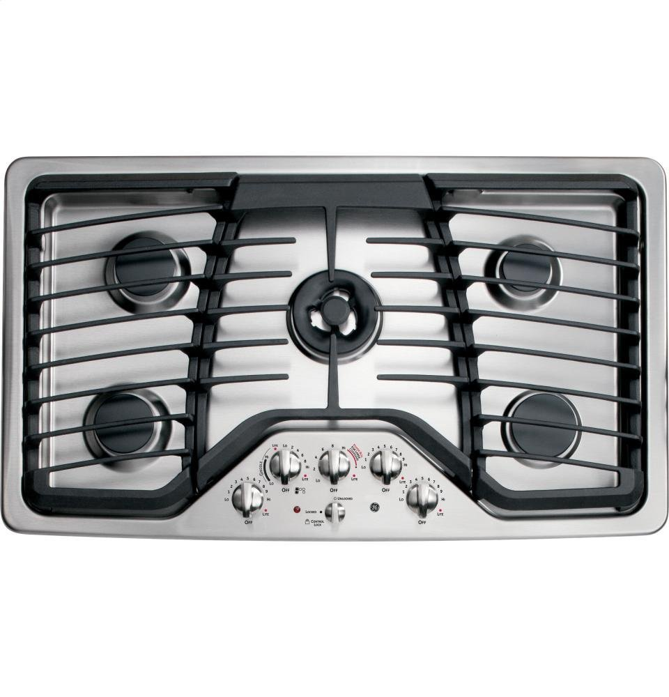 GE Profile PGP986SETSS 36' Gas Cooktop
