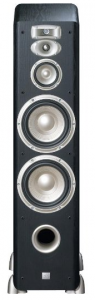 JBL L890 4-Way, High Performance 8-inch Dual Floorstanding Loudspeaker (Black)