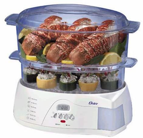 Oster 2-Tier Electronic 5712 Food Steamer