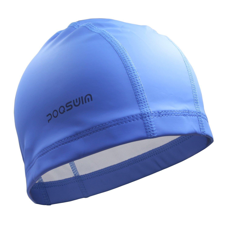 Poqswim Adult Size Lycra Swim Cap