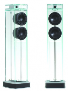 Waterfall Audio Niagara Diamond Glass Floor Standing Loudspeakers - Pair (Old Version)