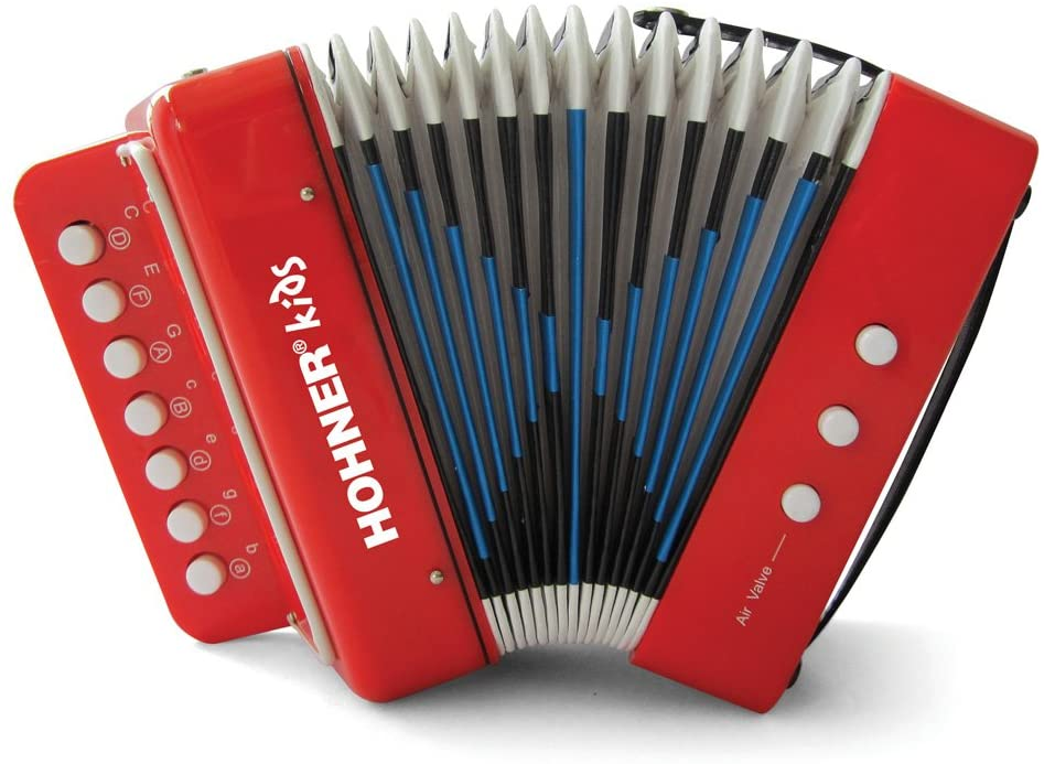 Hohner Kids UC102R Musical Accordion Effect