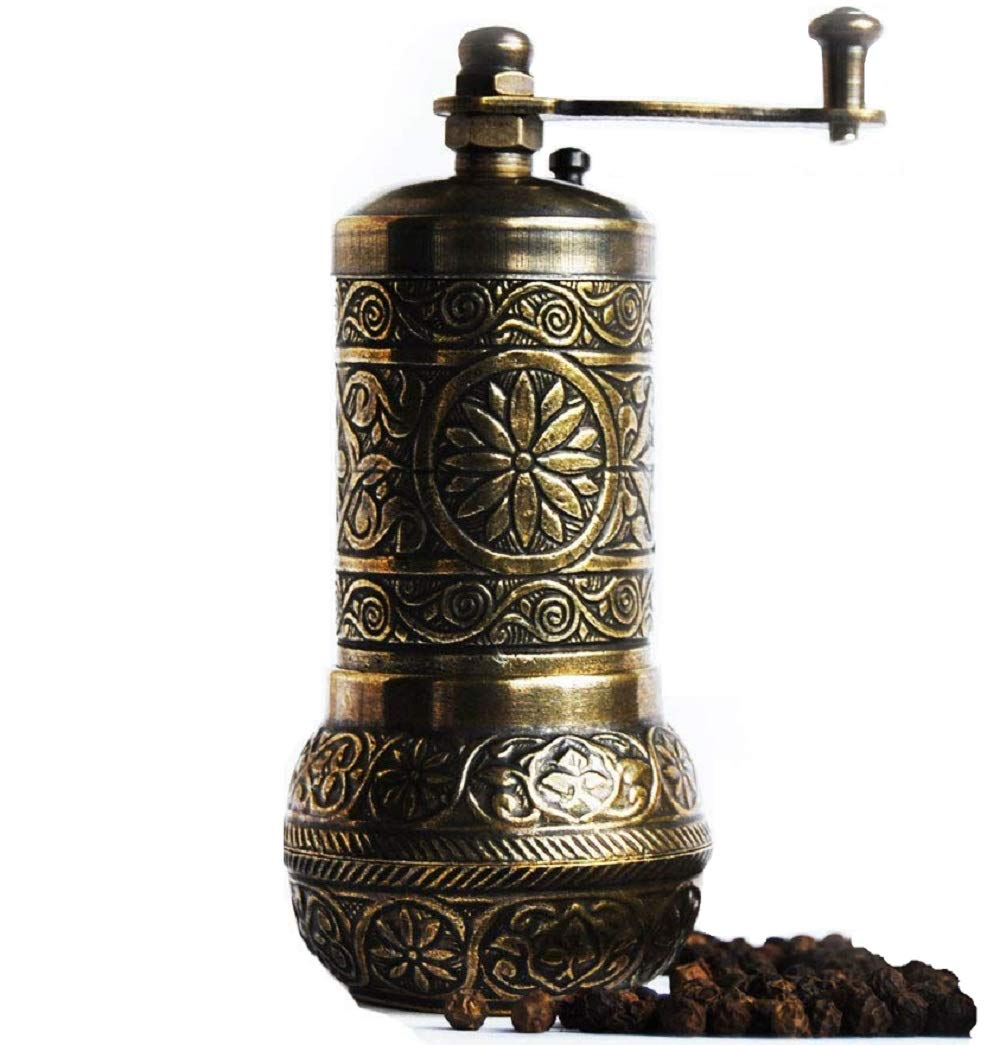 Bazaar Anatolia Turkish Grinder, Pepper Mill, Spice Grinder