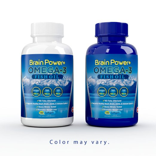 Brain Power+ Omega-3 Fish Oil