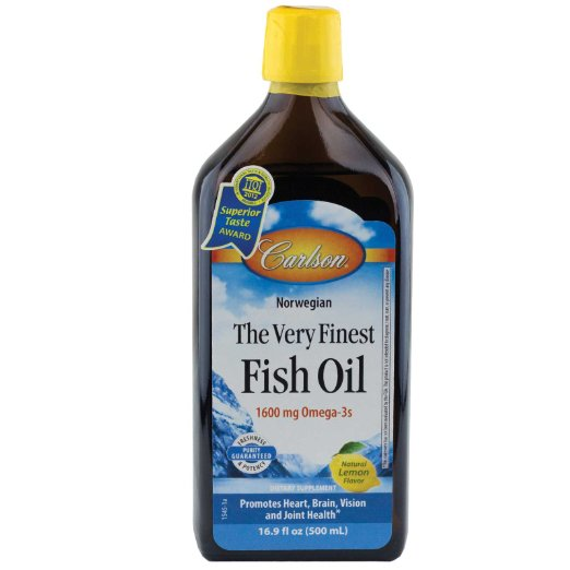 Carlson Labs Finest Liquid Fish Oil