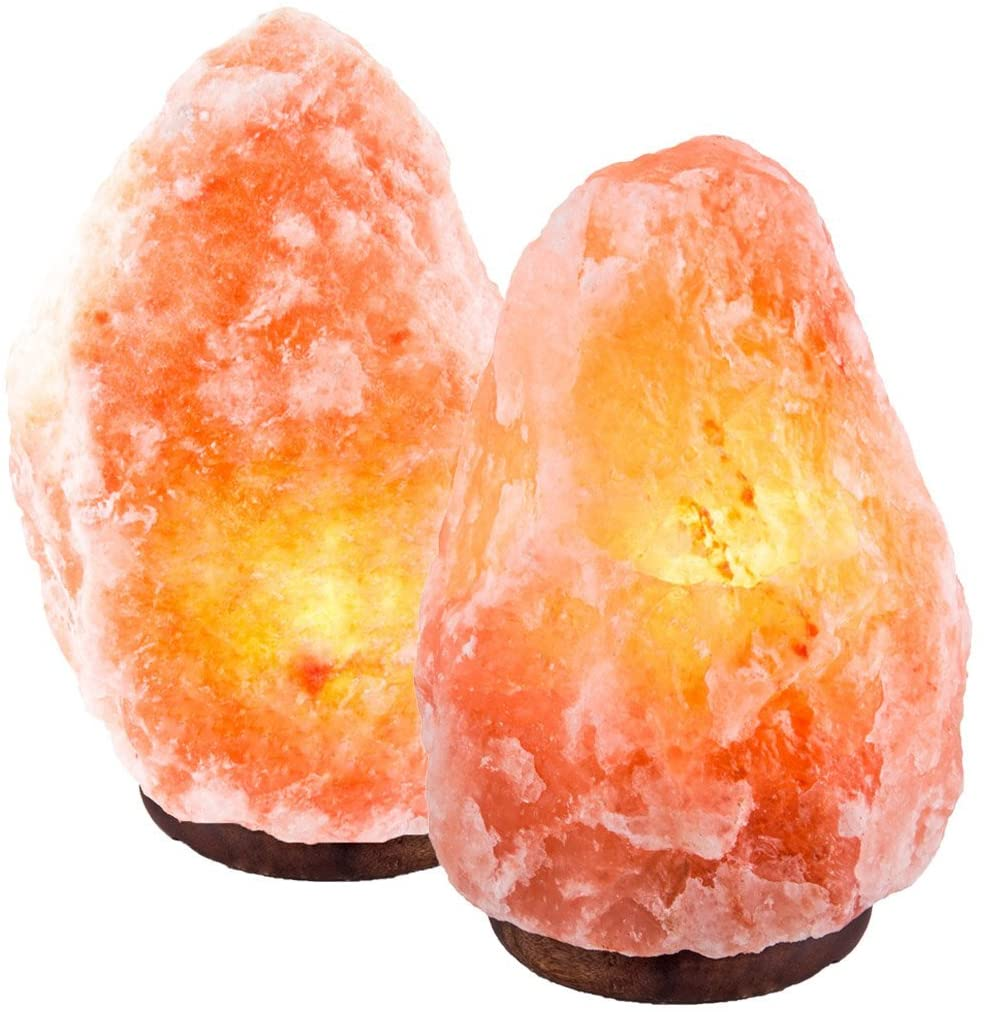 Crystal Deco 2 Natural Pink Himalayan Salt Lamp
