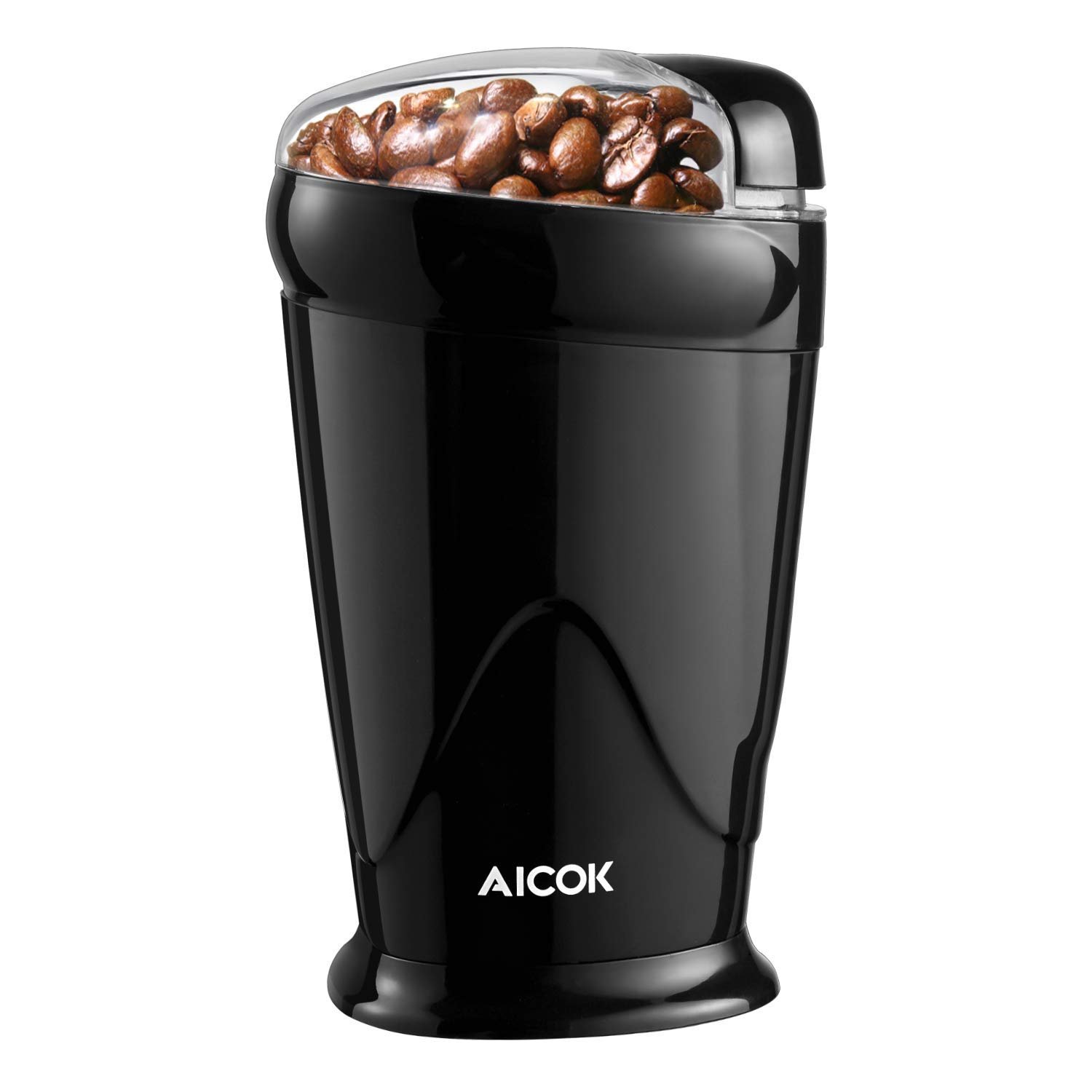 Electric Coffee Grinder, Aicok Coffee Bean Grinder Electric 12 Cup