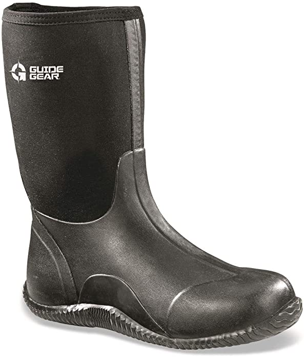 Guide Gear Mid Bogger Men's Waterproof Rubber Boots