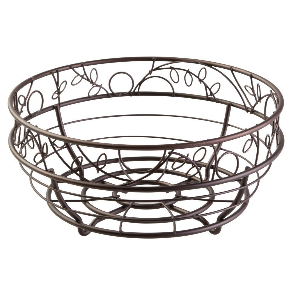 InterDesignTwigz Fruit Bowl for Kitchen Countertops