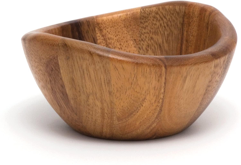 Lipper International Acacia Wave 1173 Serving Bowl