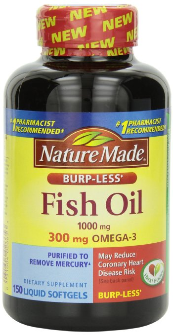 Nature-Made Burp-less Fish Oil