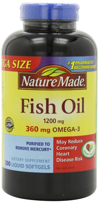 Nature-Made Mega Size Fish Oil
