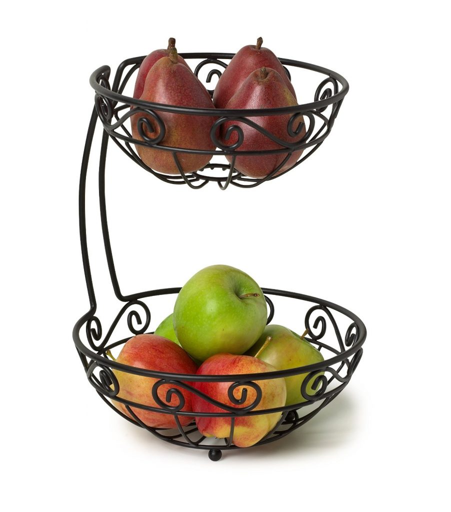 Spectrum Diversified 46810 Scroll Arched 2-Tier Fruit Server