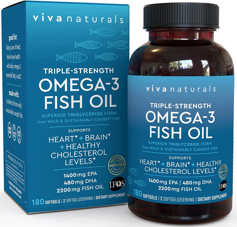 Viva Naturals Omega 3 Fish Oil