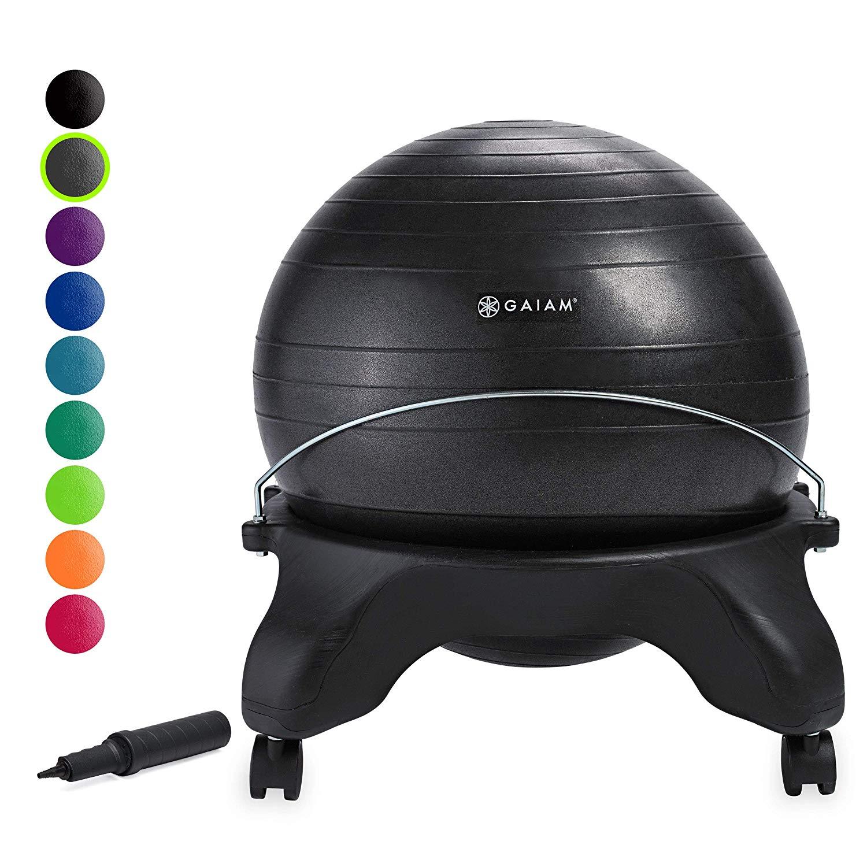 Gaiam Backless Balance Ball Chair