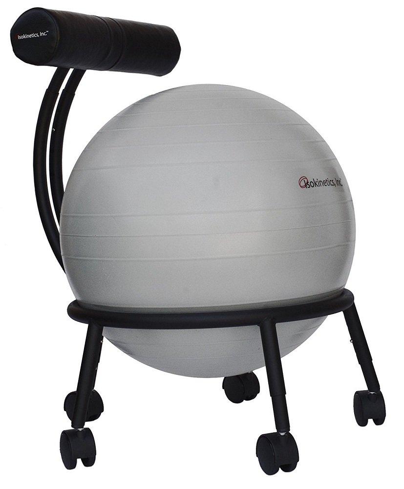 Isokinetics Adjustable Office Ball Chair