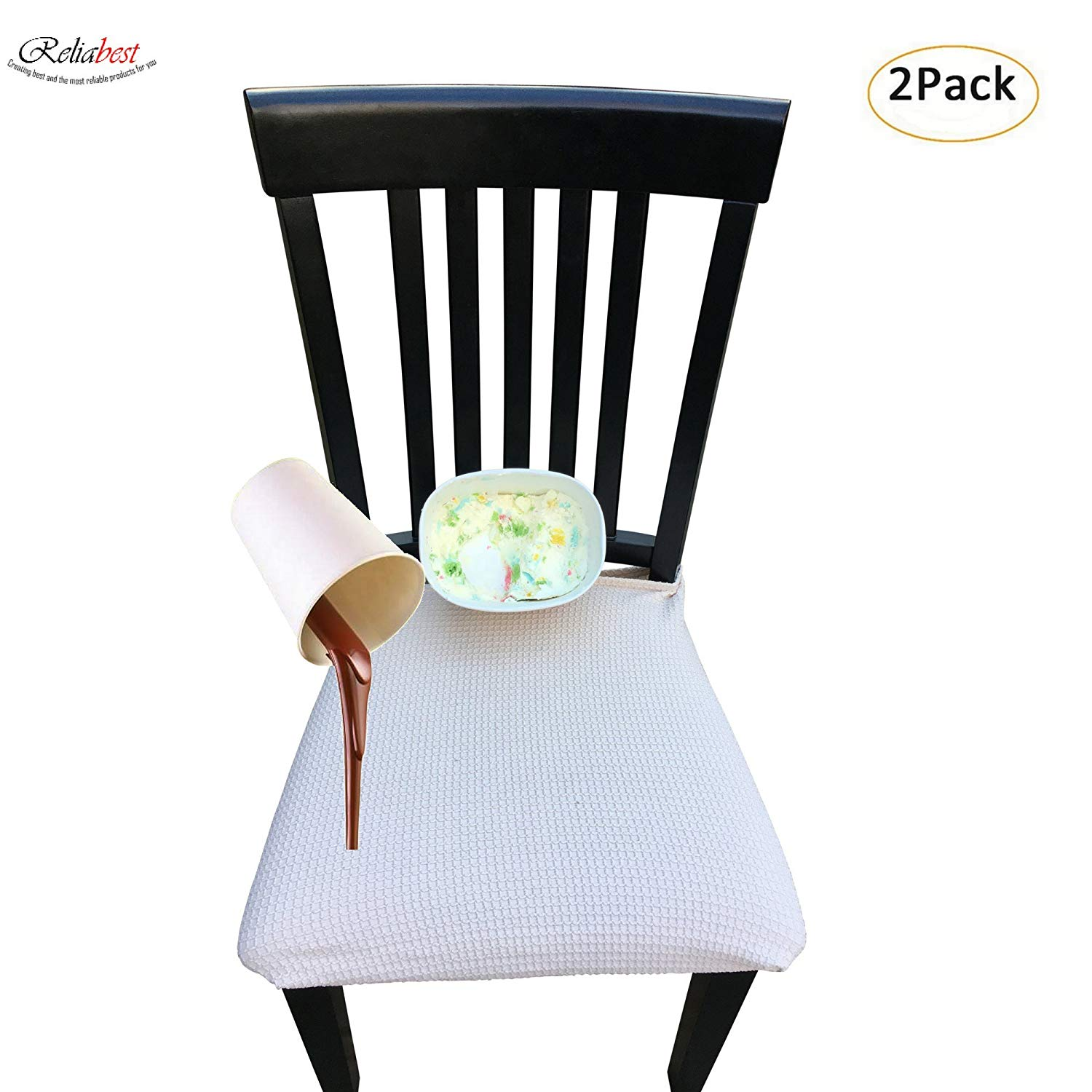 RELIABEST Waterproof Dining Chair Cover Protector