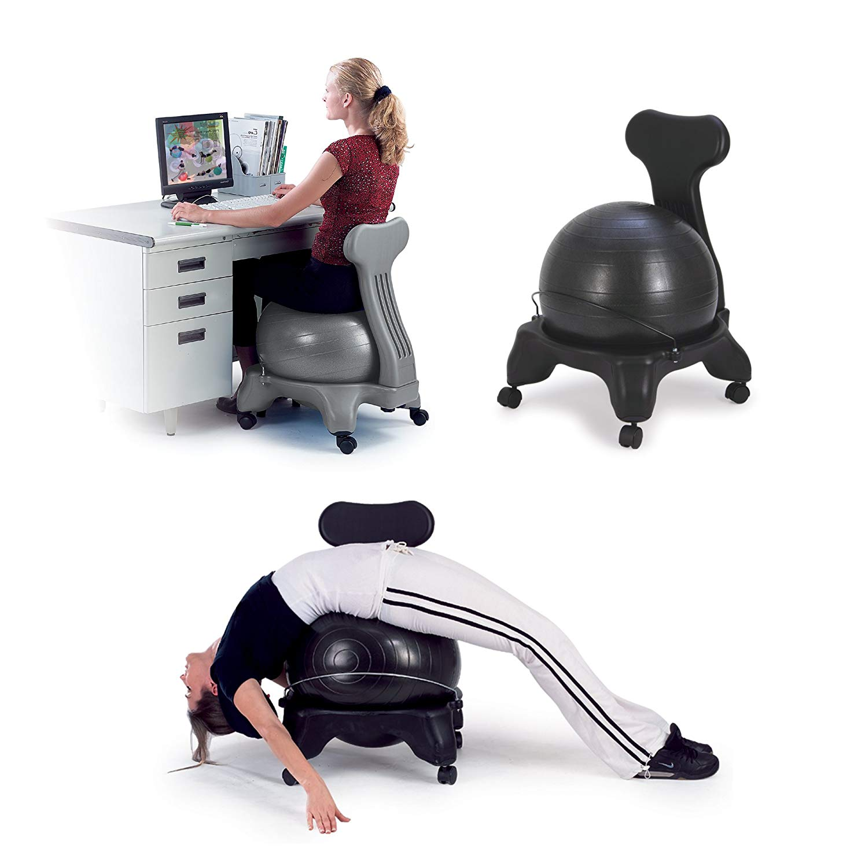 Sivan Balance Fit Office Ball Chair