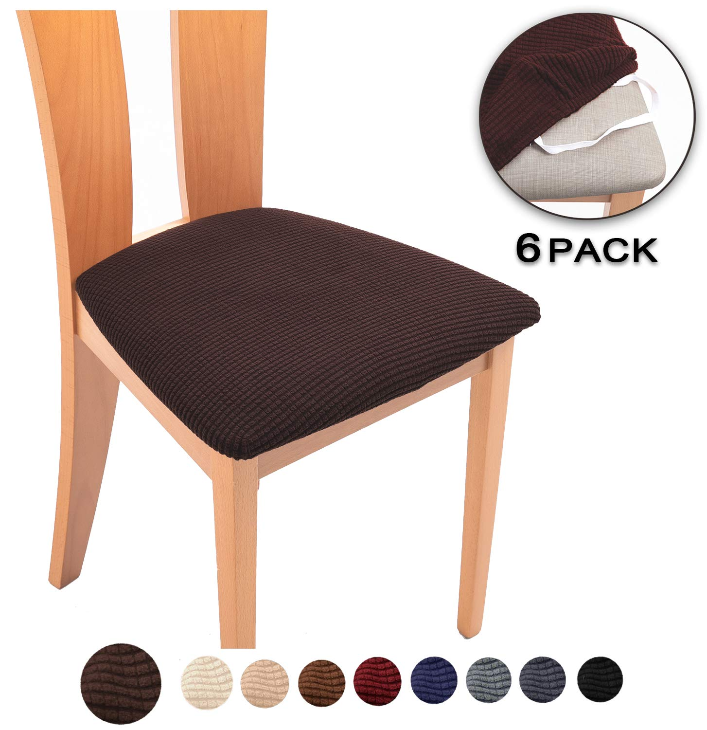 10 Best Dining Chair Seat Covers (2019 Shopping Guide ...