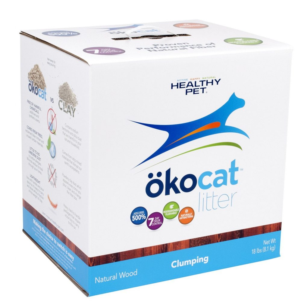 ökocat Clumping, Natural Wood Cat Litter