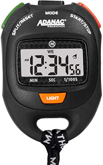 ADANAC by Marathon Professional Grade Digital Stopwatch