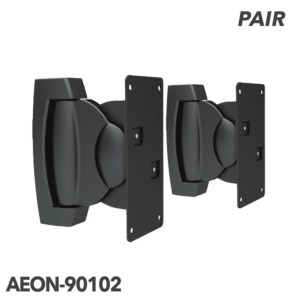 Aeon Stands and Mounts Heavy Duty Speaker Mount, Swiveling and Tilting