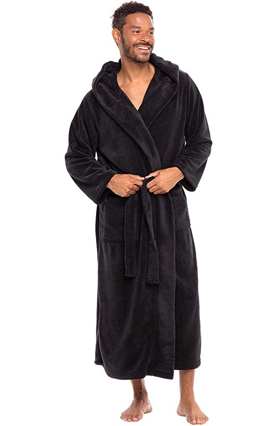 Alexander Del Rossa Men's Bathrobe