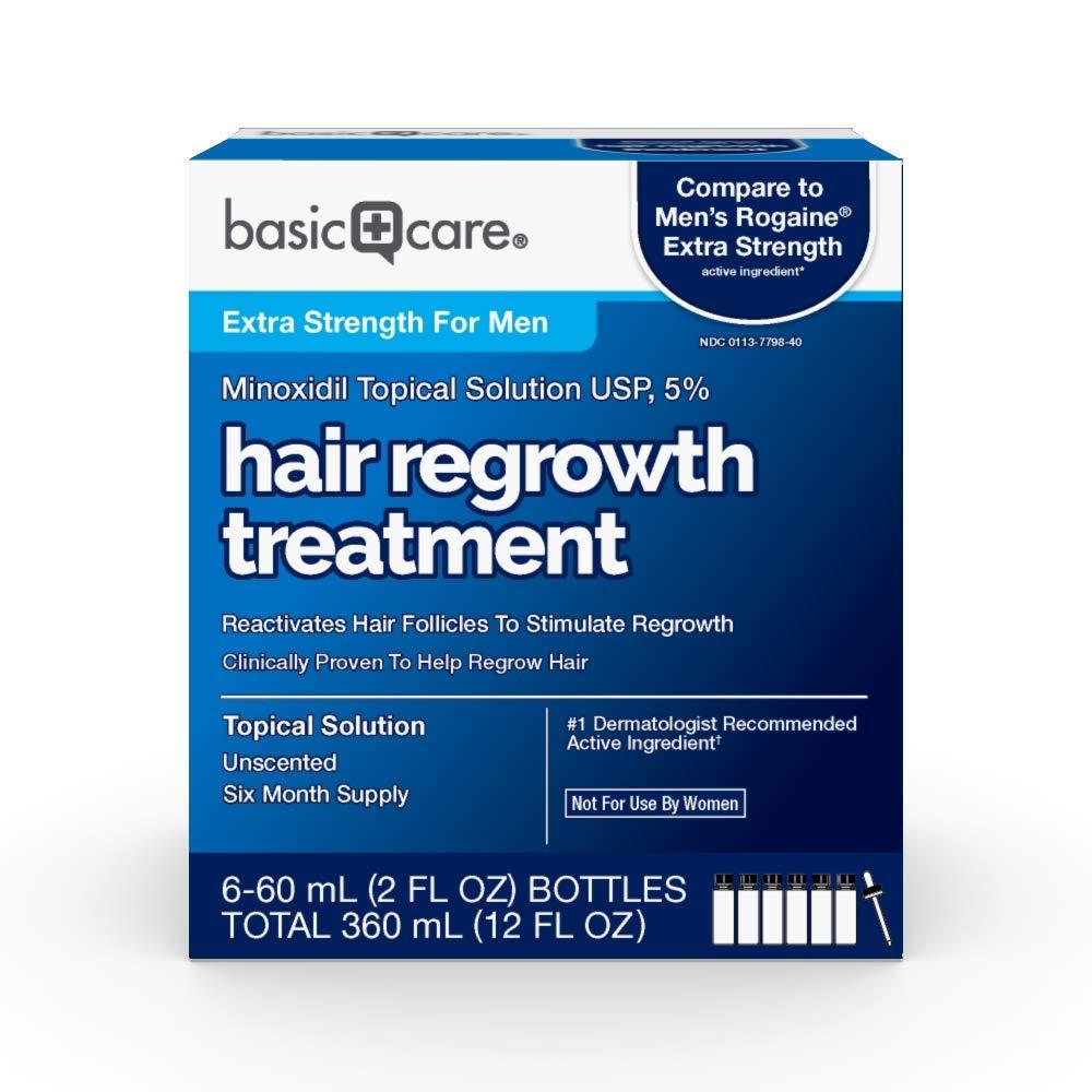 Basic Care Minoxidil Hair Regrowth Treatment