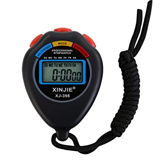 Bestpriceam LCD Professional Digital Handheld Chronograph Sports Stopwatch
