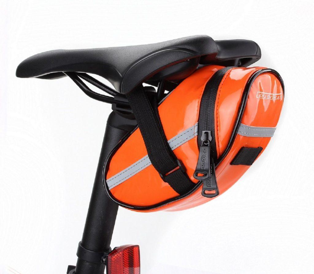 Bicycle Saddle Leisure Realm Orange