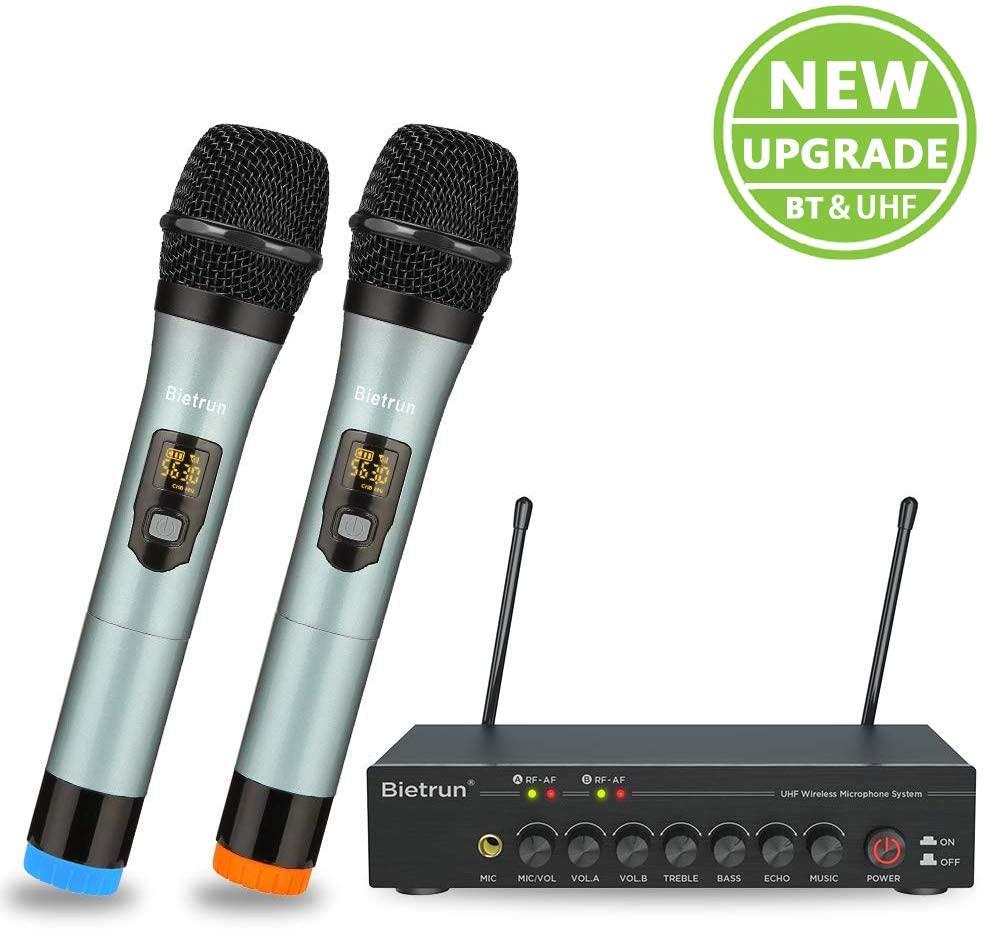 Bietrun WXM06 Professional Wireless Microphone