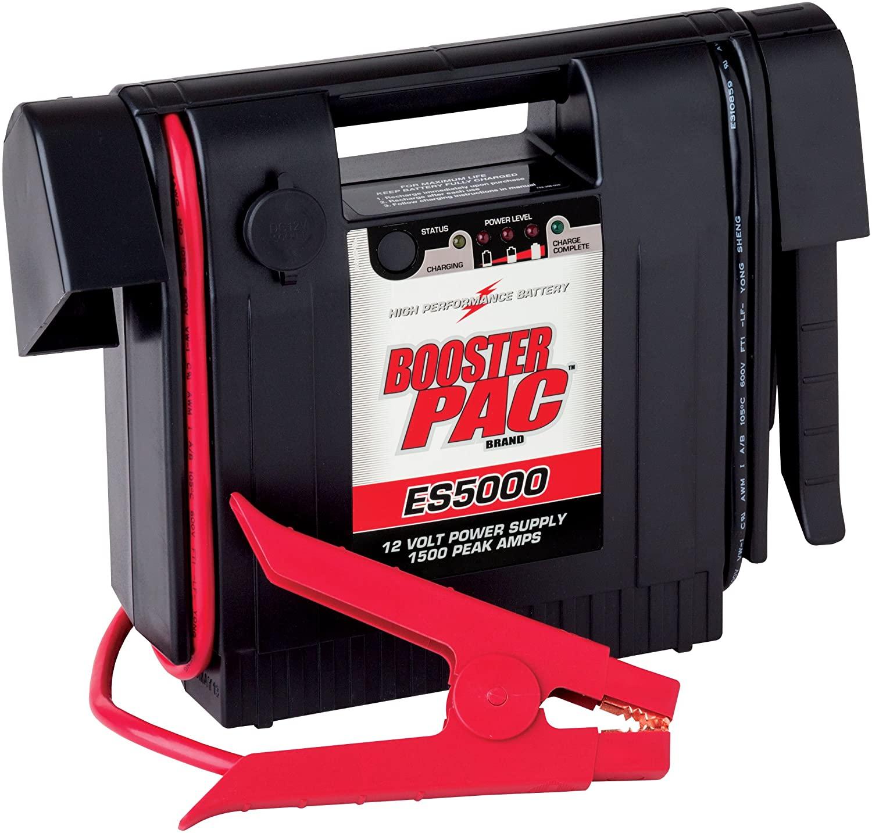 Booster 1500 Peak PAC ES5000 Jump Starter